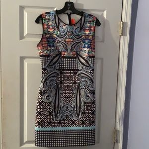 Clover canyon neoprene printed dress
